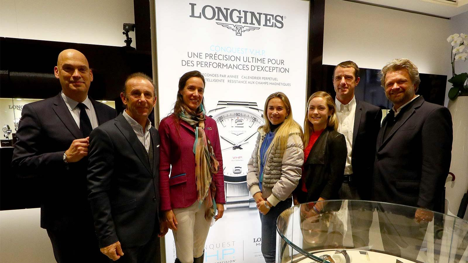 Conquest V.H.P.; first leg; the Longines Masters