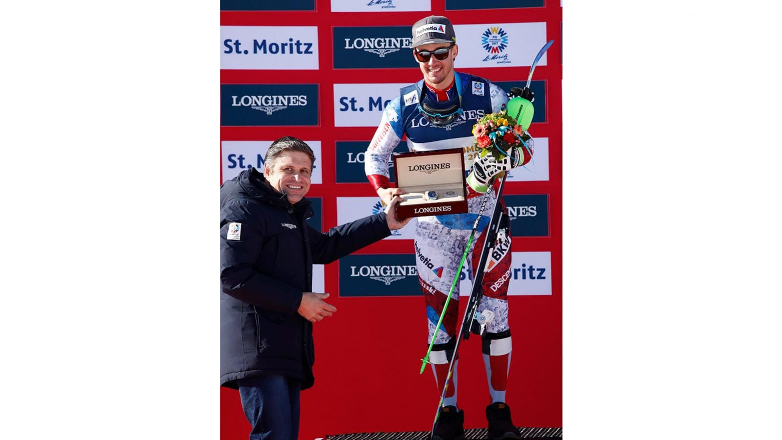 Longines rewards the Men's Alpine Combined World Champion with a model from the Conquest Classic collection,pic1