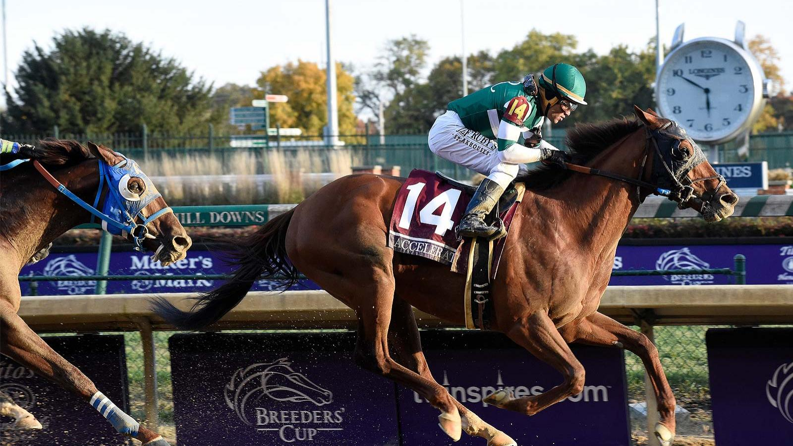 Longines; extend; partnership; Breeders' Cup
