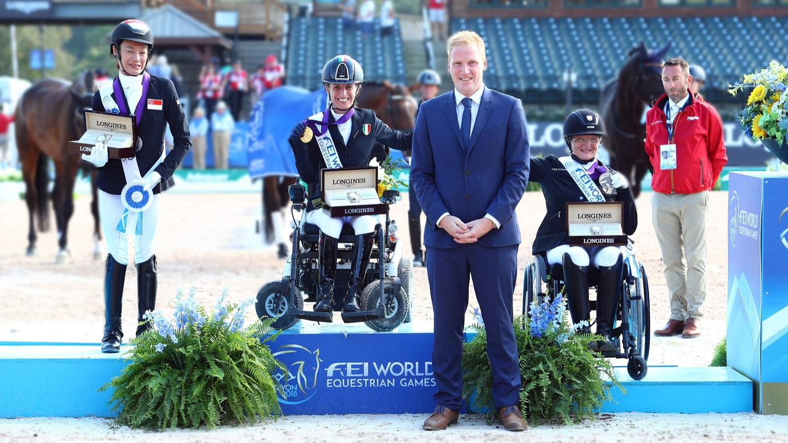 FEI World Equestrian Games Tryon 2018, Para-Dressage,pic1