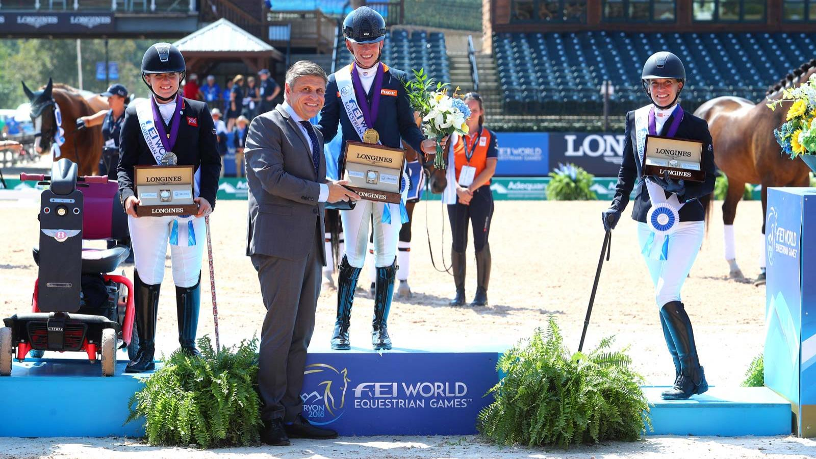 FEI World Equestrian Games Tryon 2018, Para-Dressage,pic2