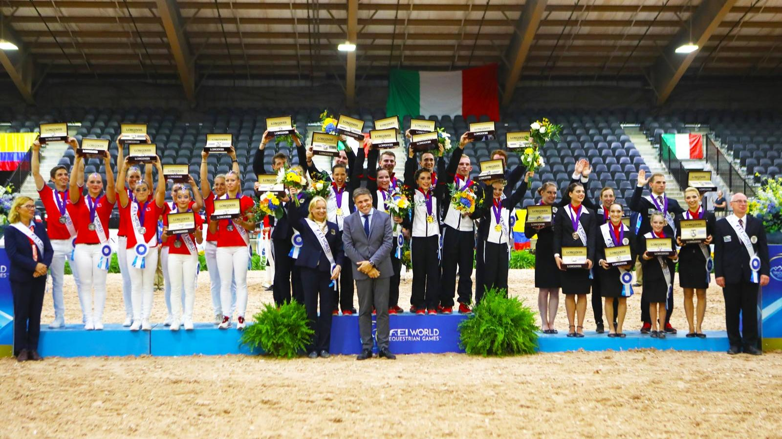 FEI World Equestrian Games Tryon 2018, Para-Dressage,pic5
