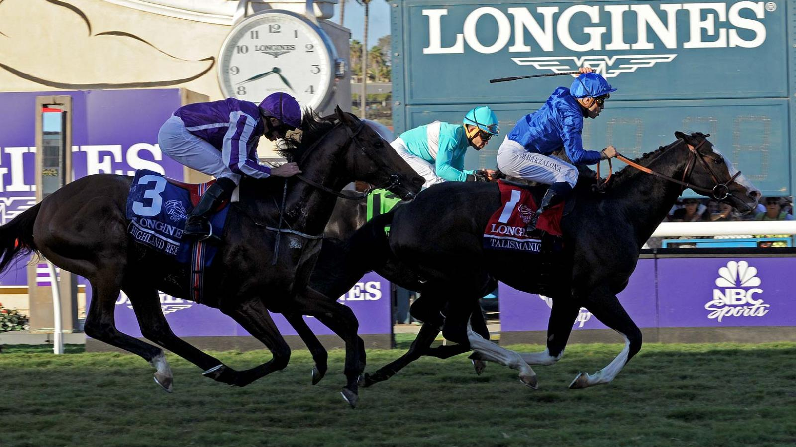 Swiss Watch Brand Longines Times 2017 Breeders Cup World