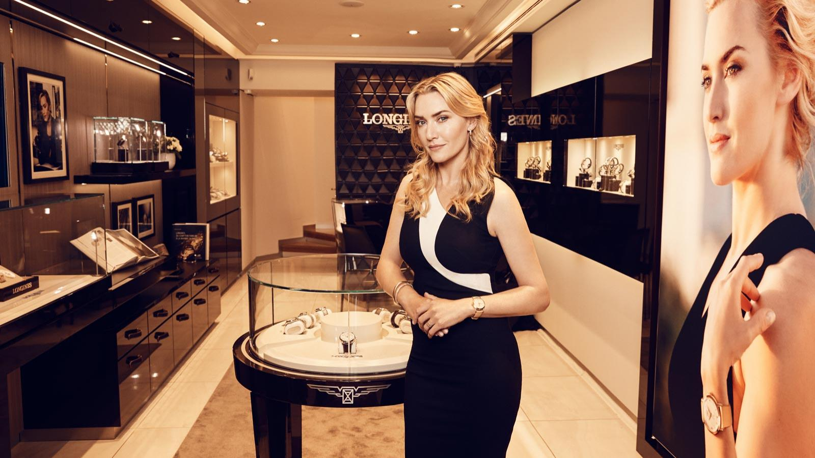 Kate Winslet auction; 3 watches sold; Golden hat foundation;pic1