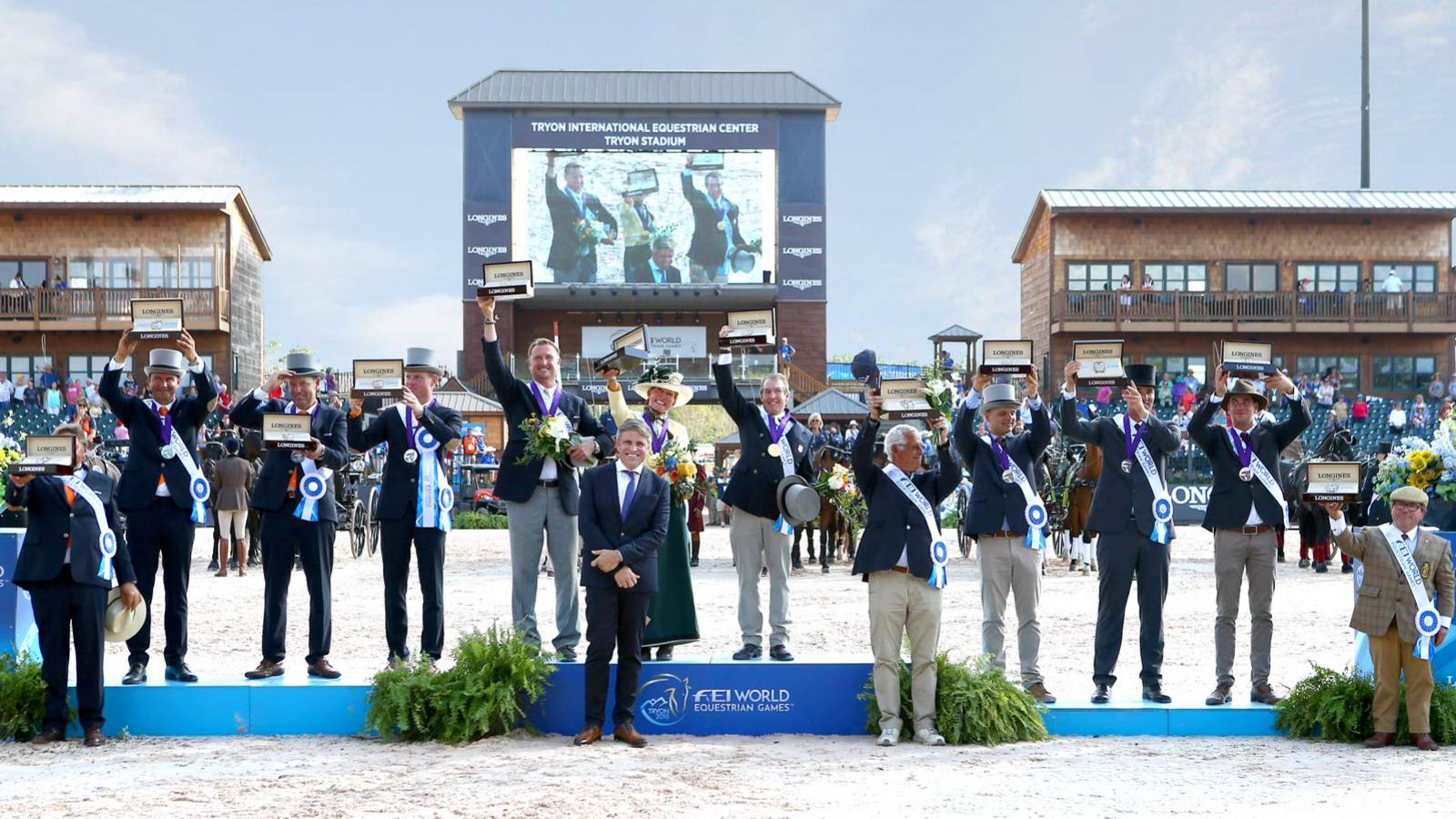 Tryon 2018, WEG, Final,Closing ceremony,pic1