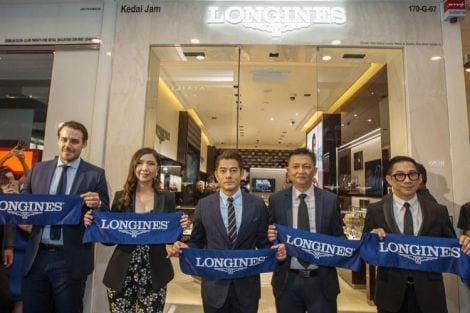 Grand Opening of the Brand's Fourth Boutique in Malaysia, aaron kwok
