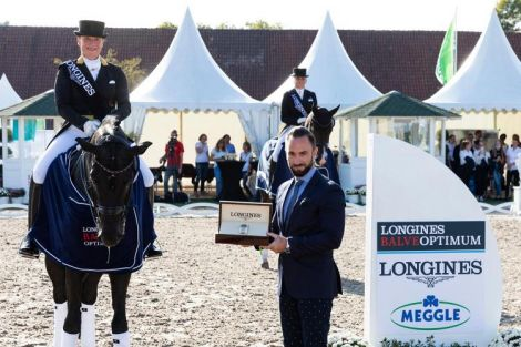 Dressage competitions; Longines Balve Optimum 2020
