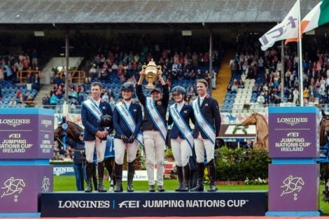 Longines FEI Jumping Nations Cup of Ireland - Dublin Horse Show; Jumping; 2019