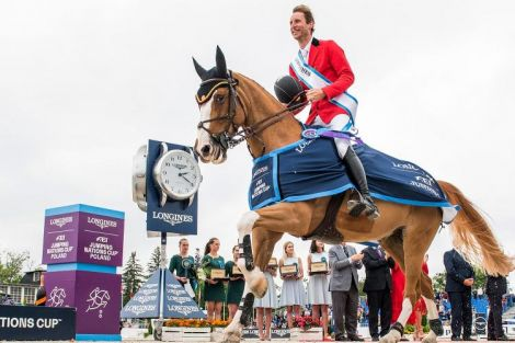 Longines FEI Jumping Nations Cup of Poland - Sopot; Jumping; 2019