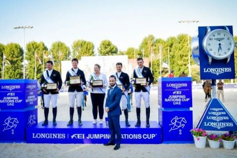 Longines FEI Jumping Nations Cup of UAE 2020