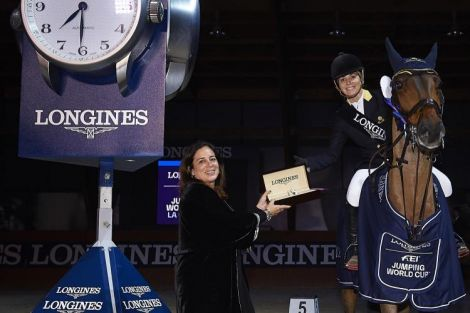Longines FEI World Cup Western European League; Casa Novas; Winter Festival 2018