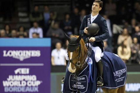 On Saturday 8 February 2020, Steve Guerdat (CH) on Victorio Des Frotards claimed victory at the Longines FEI Jumping World Cup™ Western European held in Bordeaux.