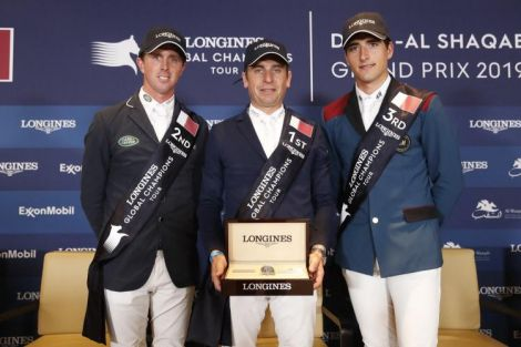 Longines Global Champions Tour de Doha ; Saut d'obstacles ; 2019