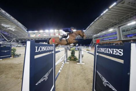 Longines Global Champions Tour в Дохе; Конкур; 2020