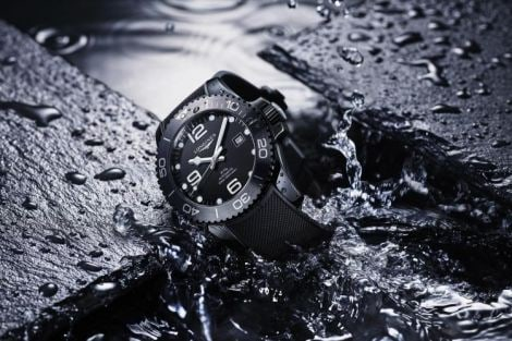 Longines HydroConquest new all-black ceramic; pre-selected; 2019; GPHG; Diver's watch category