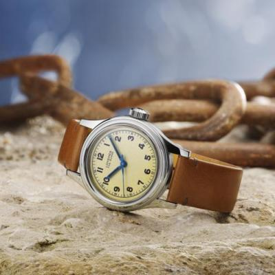 The Longines Heritage Military Marine Nationale: Longines prend le large