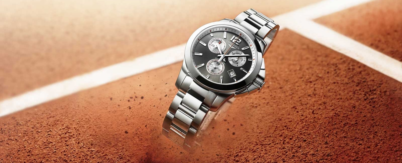 Sporting Elegance Encapsulated in the New Conquest Roland Garros Ladies Model, watch, Longines, Roland Garros, Stefanie Graf, Conquest