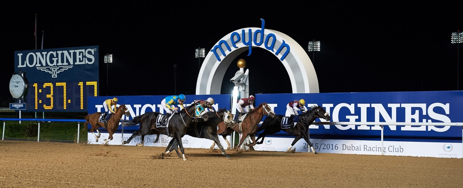 Dubai World Cup Carnival Opening night;Races Presented by Longines;Horse Racing;2016