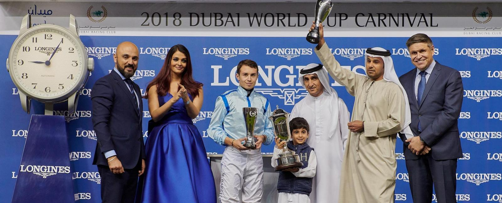 Dubai World Cup Carnival Opening night & Races Presented by Longines; Dubai