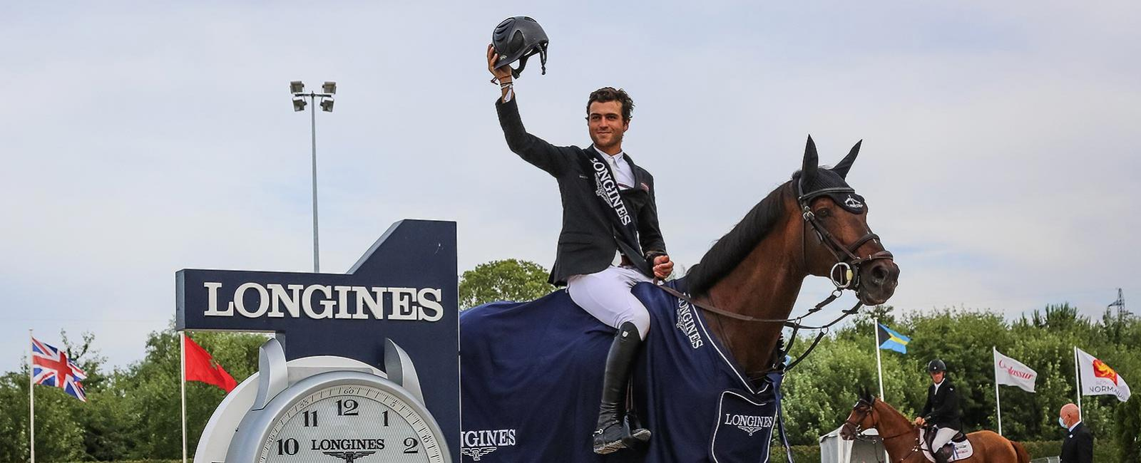 Edward Levy; Sirius Black; Grand Prix Longines; Région Normandie