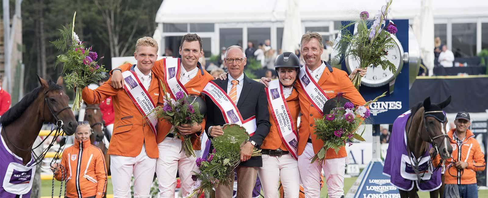 FEI Nations Cup; Division 1; Falsterbo; Jumping; 2017