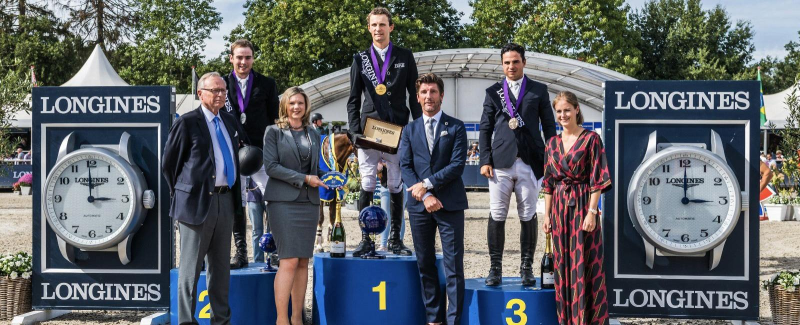 Uppercourt Cappucino, Mystic van 'T Hoogeinde and Solid Gold Z are the winners of the FEI World Breeding Jumping Championships for Young Horses