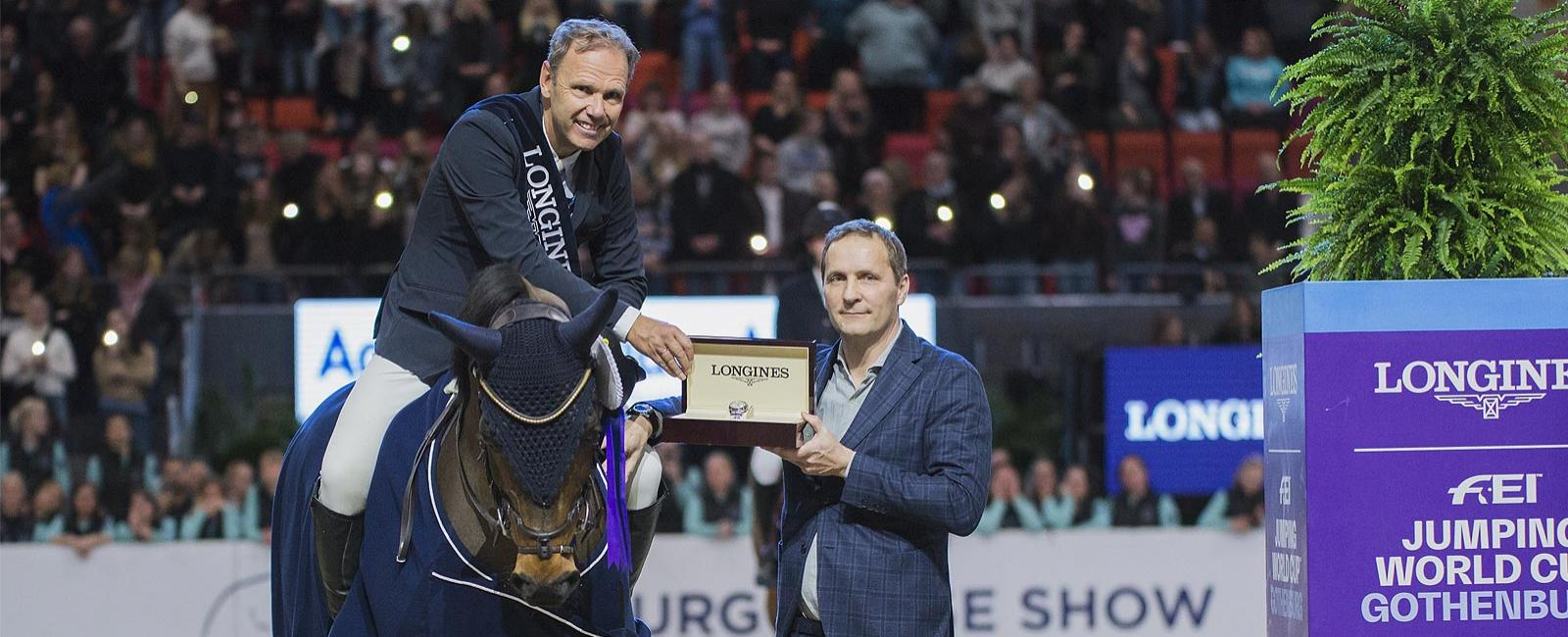 Geir Gulliksen; Vdl Groep Quatro; victoire; Longines FEI Jumping World Cup Western European League
