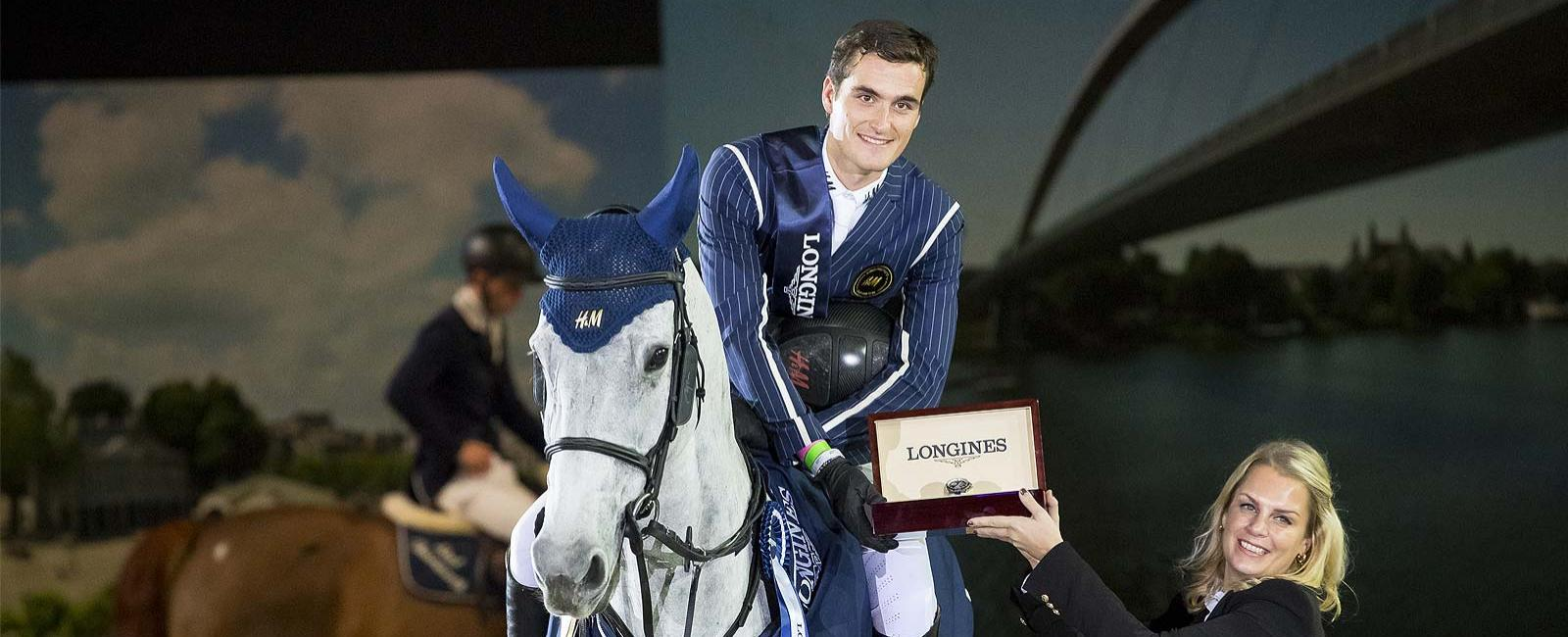 Olivier Philippaerts; H&M Legend of Love; the Longines Trophy; Grand Prix of Maastricht