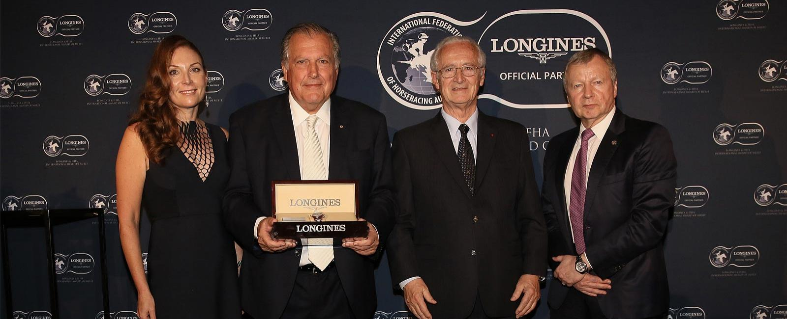 IFHA & Longines Award of Merit; Premio; 2019