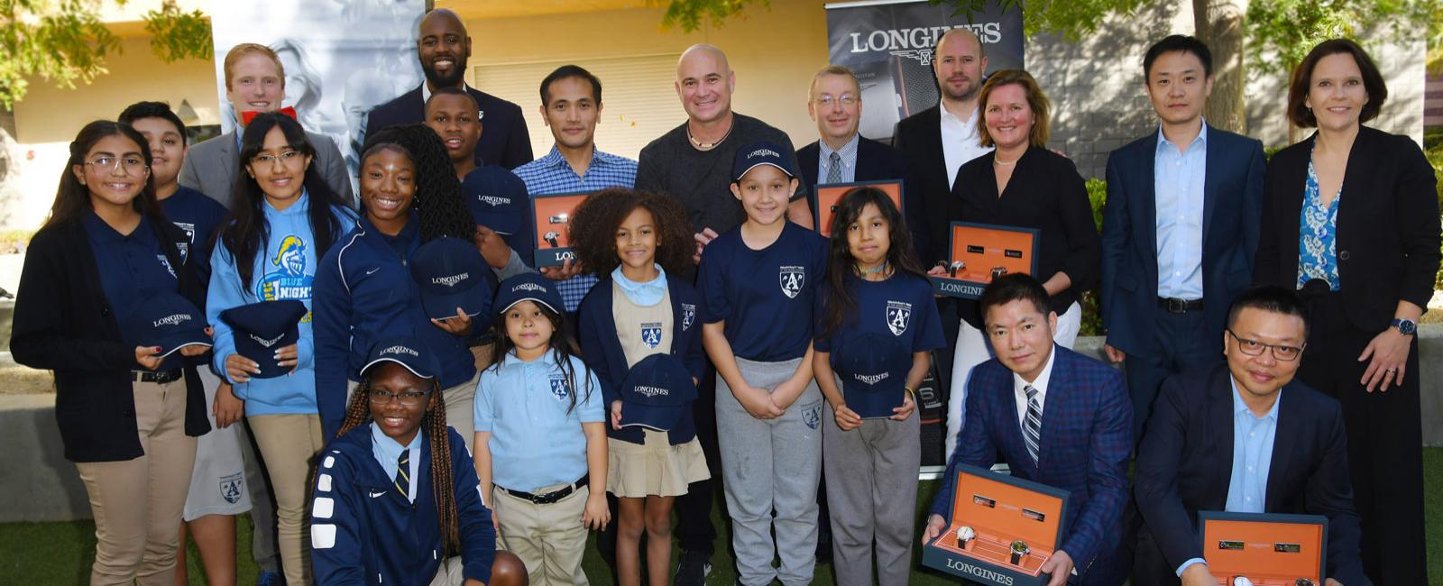 Andre Agassi Foundation for Education, Conquest V.H.P. Stefanie Graf & Andre Agassi Foundations,