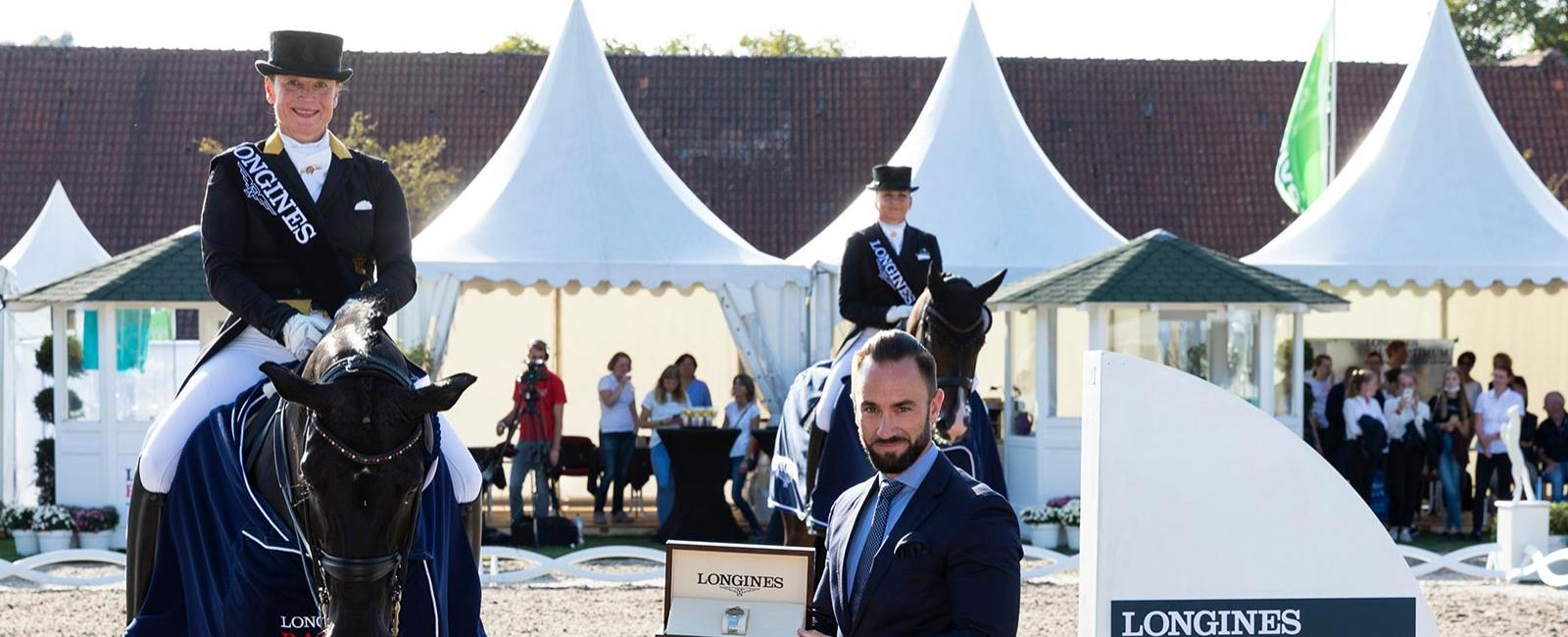 Compétitions de dressage ; Longines Balve Optimum 2020