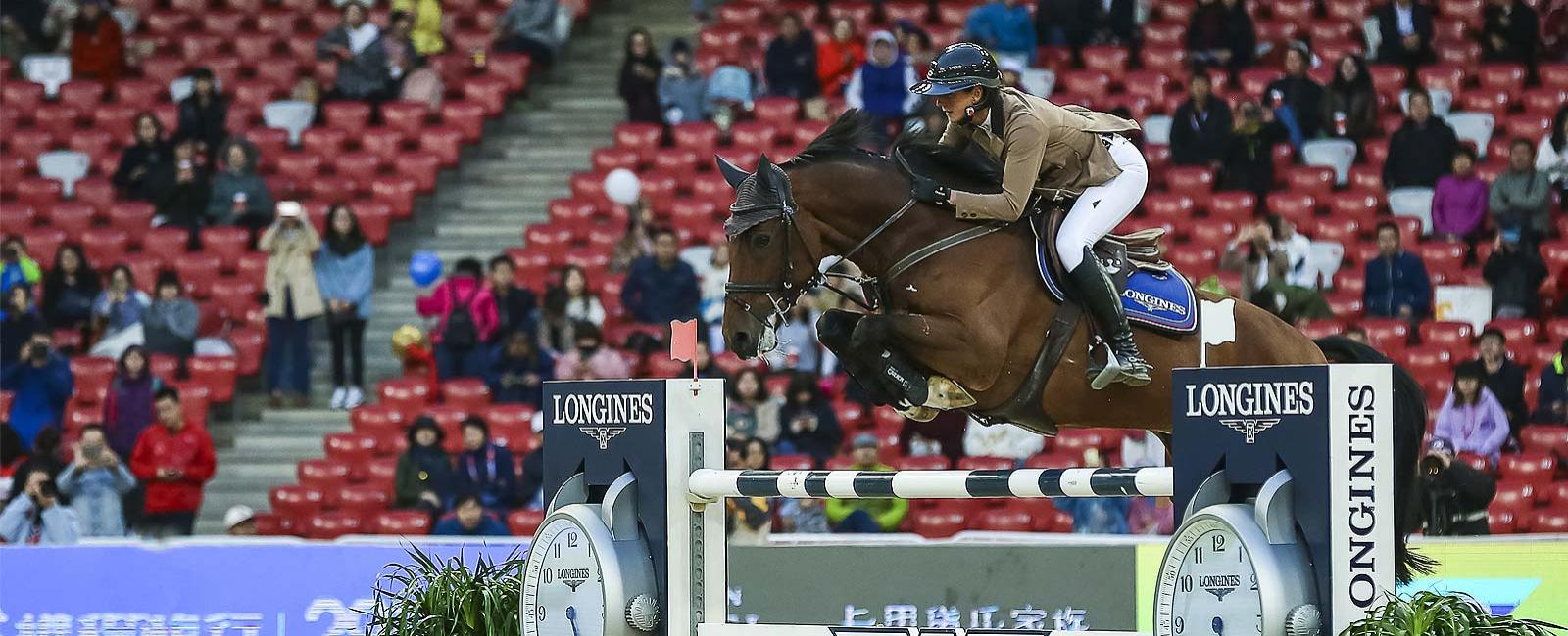 Longines Equestrian Beijing Masters; Salto a ostacoli; 2019