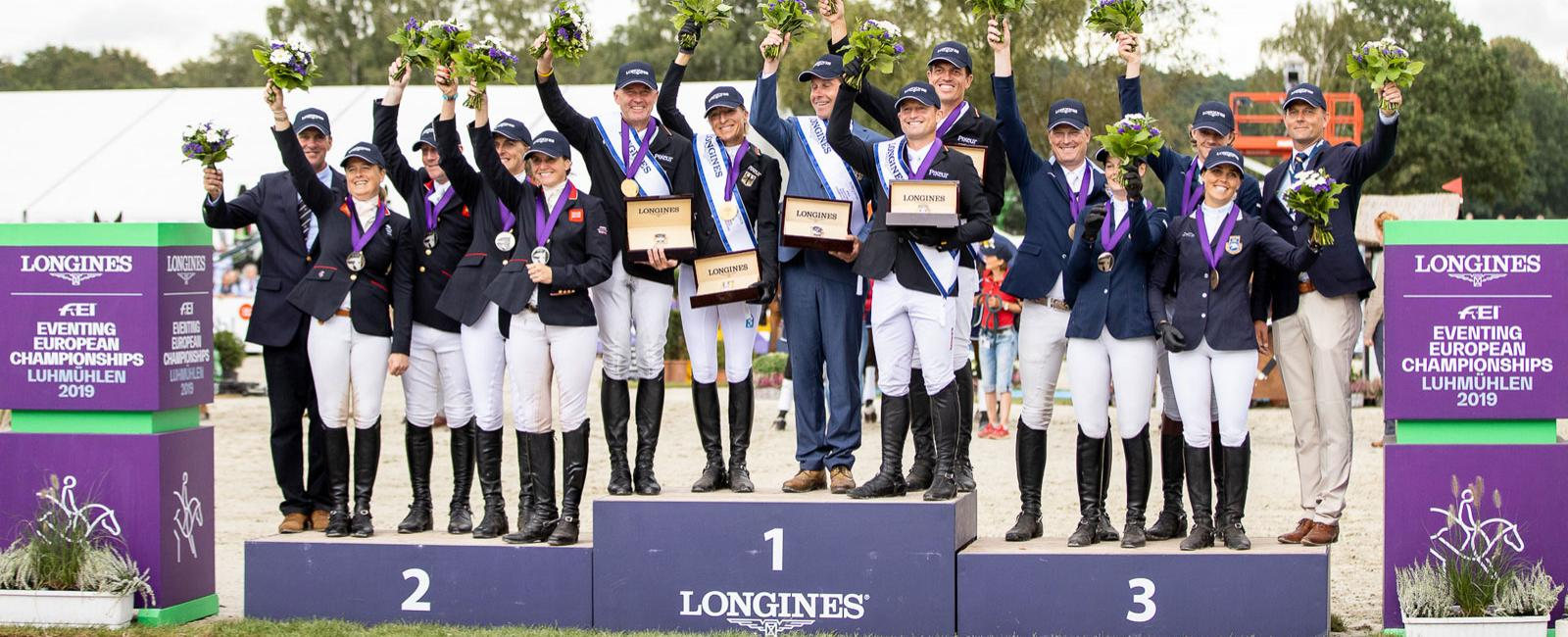 Longines FEI Eventing European Championships; Luhmühlen; 2019