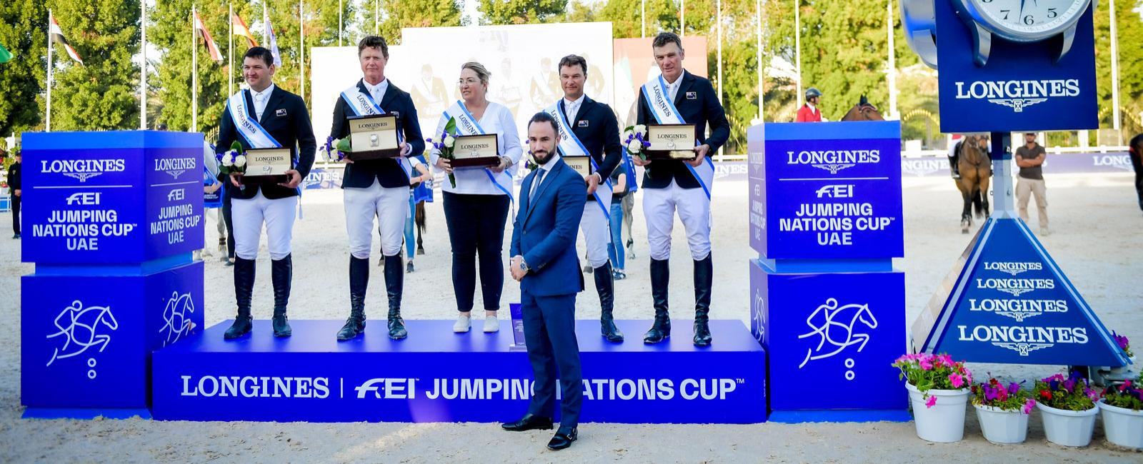 Longines FEI Jumping Nations Cup degli EAU 2020
