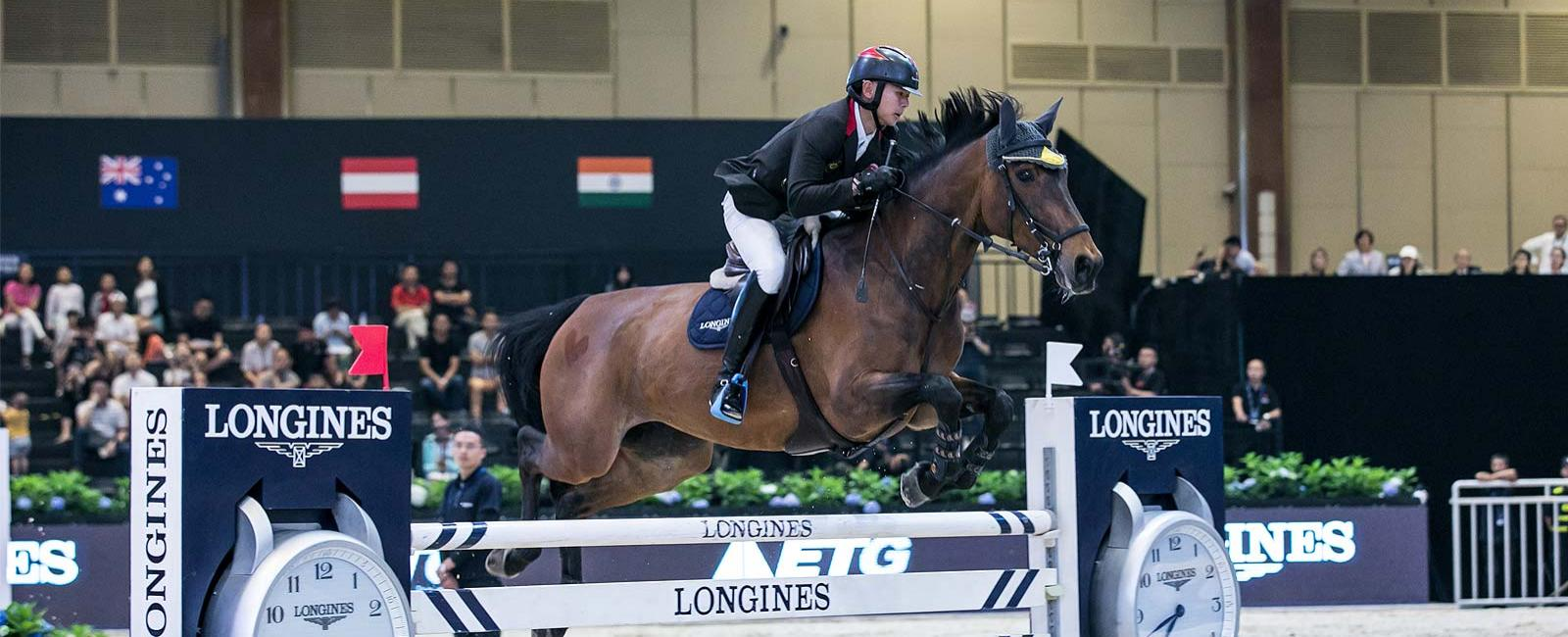 Longines FEI World Cup China League - 2<sup>e</sup> manche; Saut d'obstacles; 2019