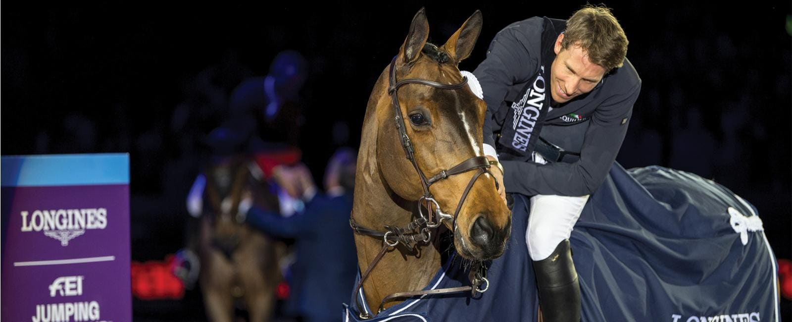 Longines FEI Jumping World Cup Western European League - Amsterdam; Jumping; 2019