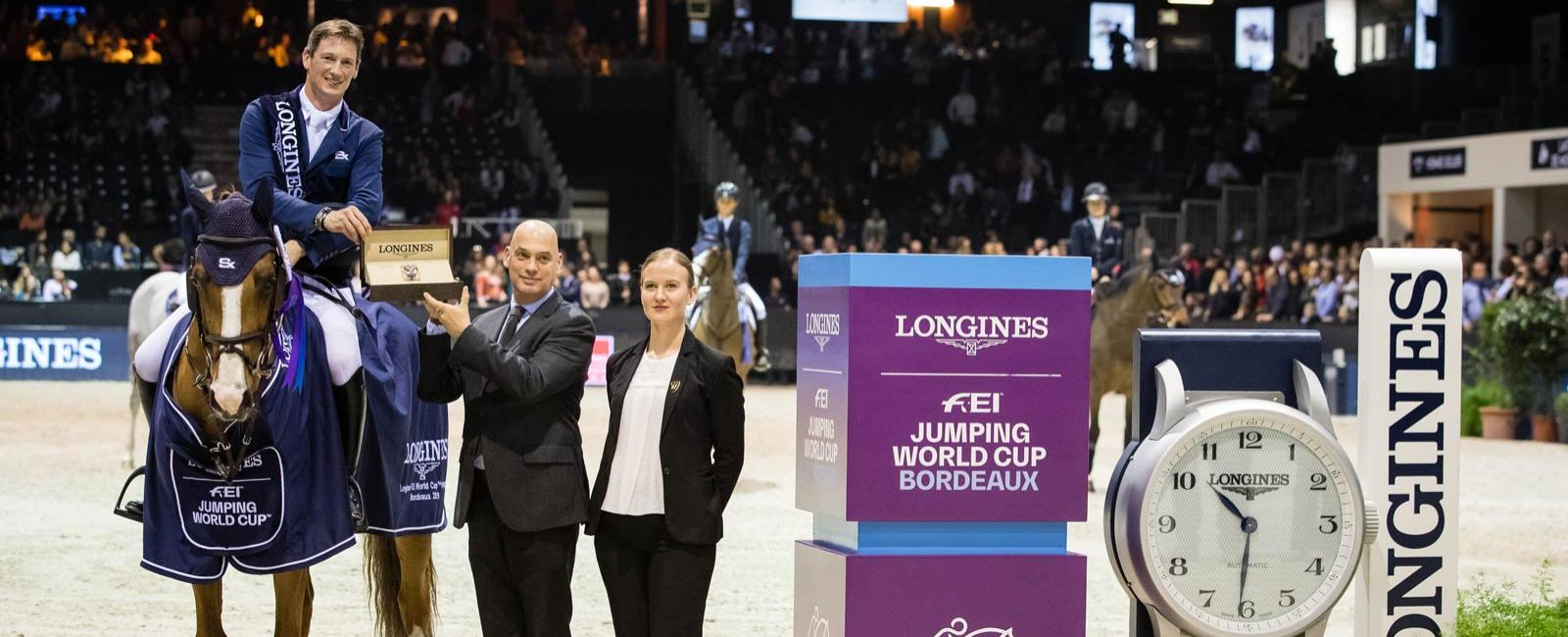 Longines FEI Jumping World Cup Western European League - Jumping International de Bordeaux ; Saut d'obstacles ; 2019