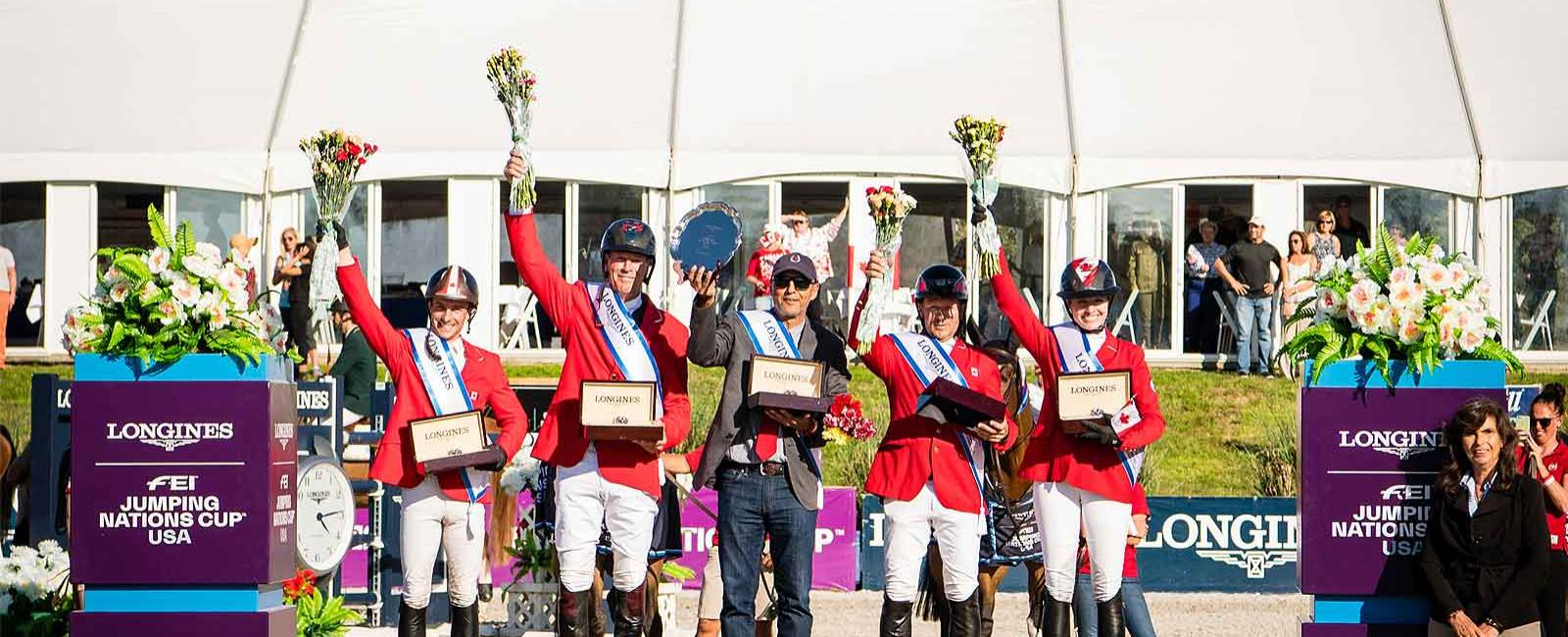 Longines FEI Nations Cup; North America; Ocala