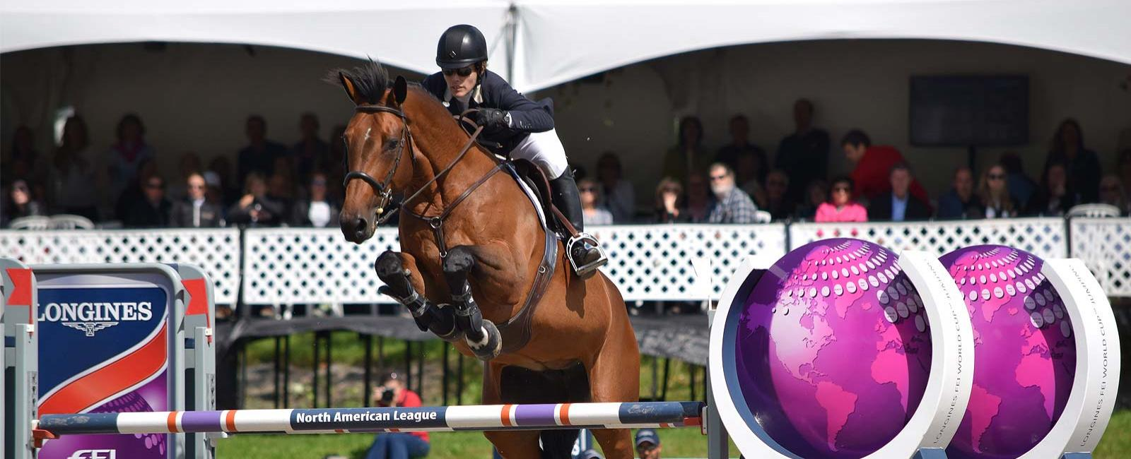 Longines FEI World Cup North American League - Bromont; Jumping; 2017; Isabelle Lapierre; Cescha M