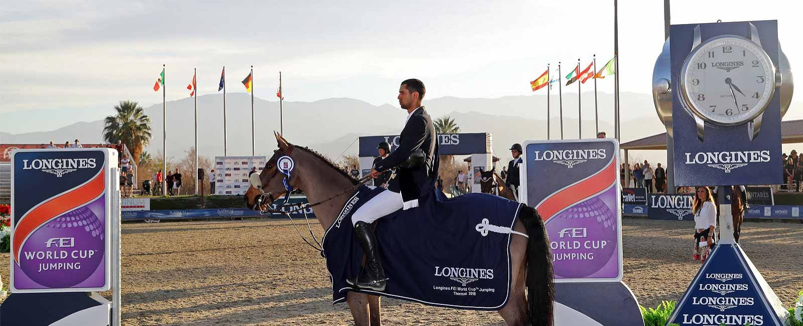 Longines FEI World Cup North American League; Thermal; 2018