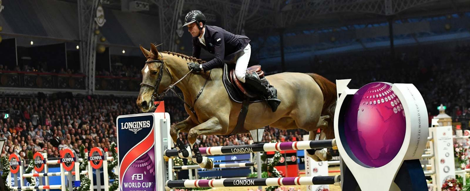 Longines FEI World Cup Western European League - London Olympia Horse show; Jumping; 2017