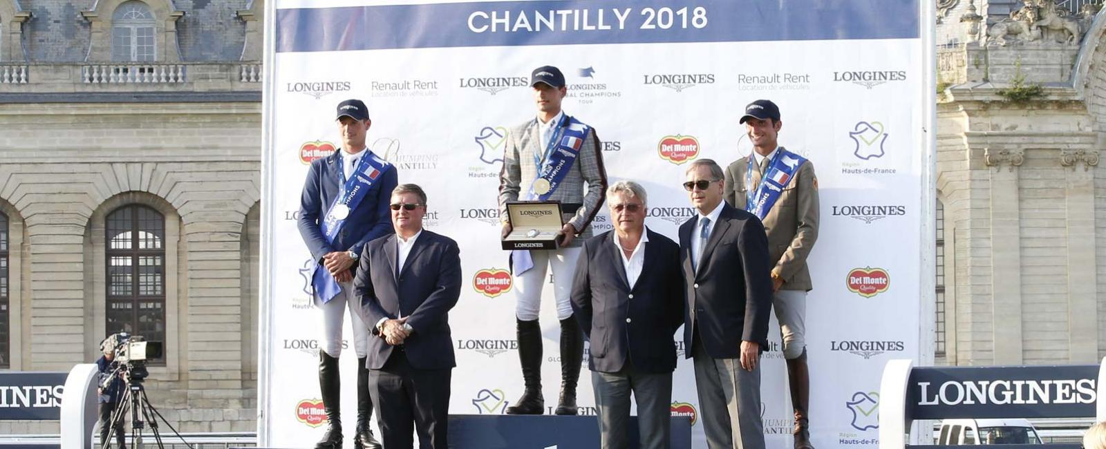 Jumping; Longines Global Champions Tour; Chantilly