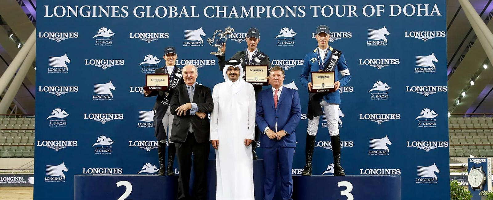 Longines Global Champions Tour Doha - Final Event;Jumping;2016