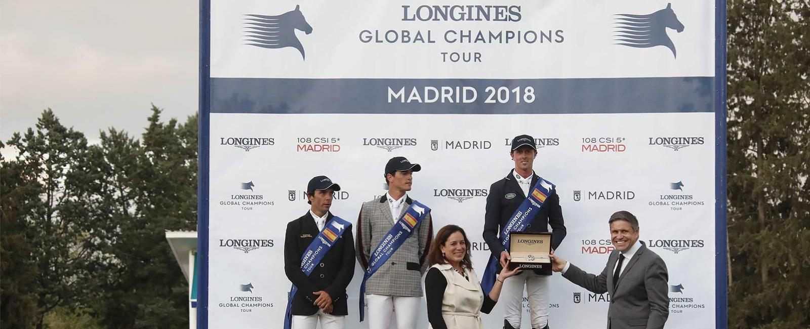 Jumping; Longines Global Champions Tour; Madrid; Ben Maher