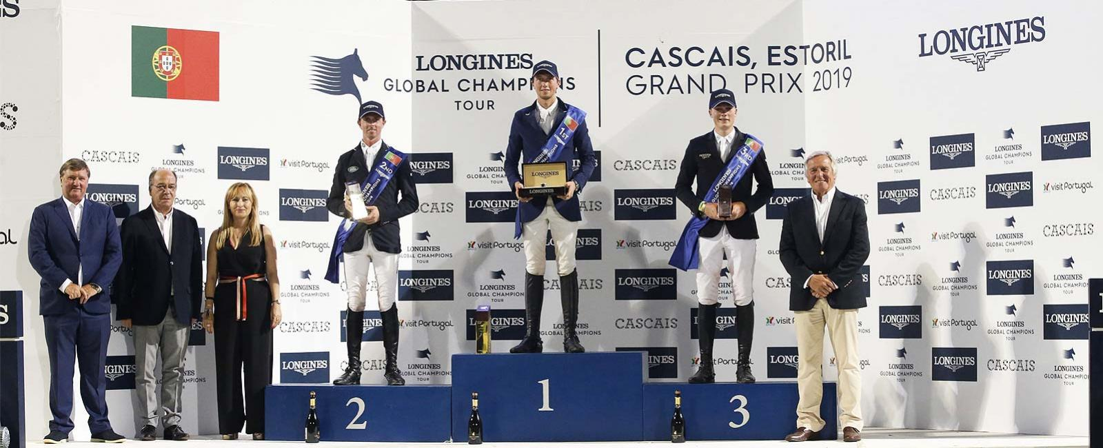 Longines Global Champions Tour of Cascais-Estoril; Jumping; 2019