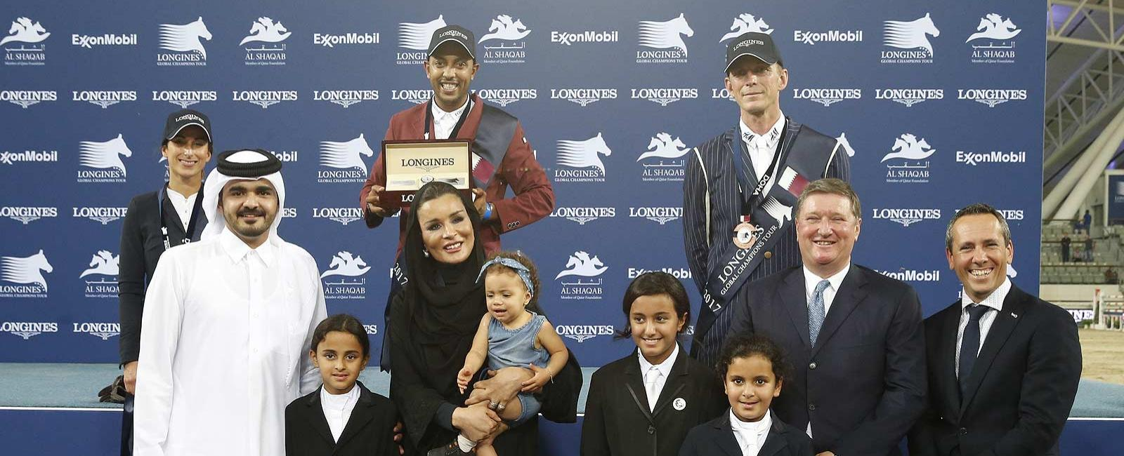Longines Global Champions Tour of Doha; Jumping; 2017