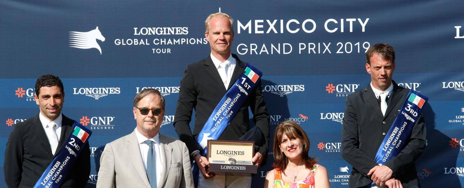 Longines Global Champions Tour of Mexico; Jumping; 2019