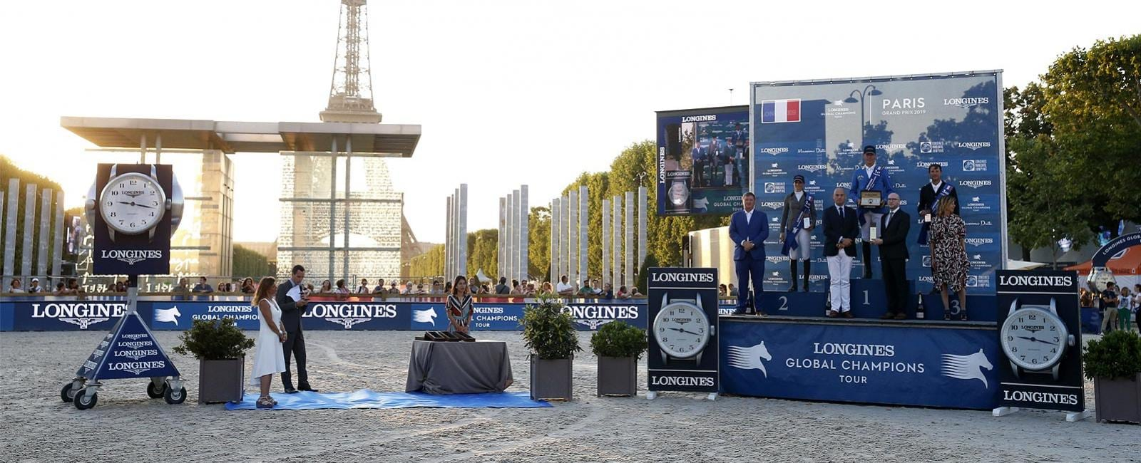 Longines Global Champions Tour von Paris; Springreiten; 2019