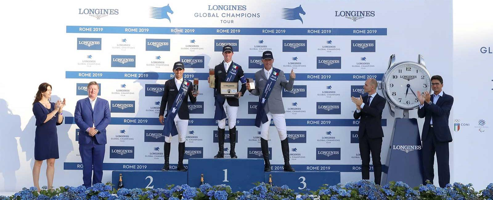 Longines Global Champions Tour of Rome; Jumping; 2019