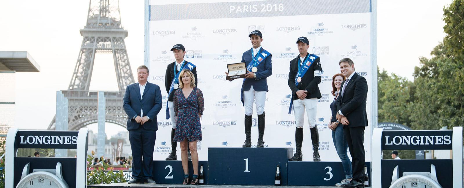 Longines Global Champions Tour; Paris;2018